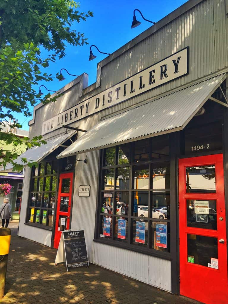 Liberty Distillery Granville Island Vancouver