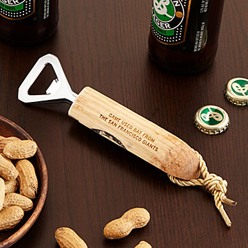 Gifts for beer lovers Baseball bat beer opener