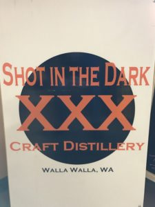 Shot in the Dark Distillery Walla Walla WA