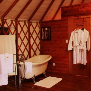 Merridale Yurts Pacific Northwest Getaways