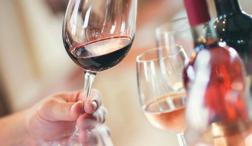 Wine tasting in the Okanagan Valley