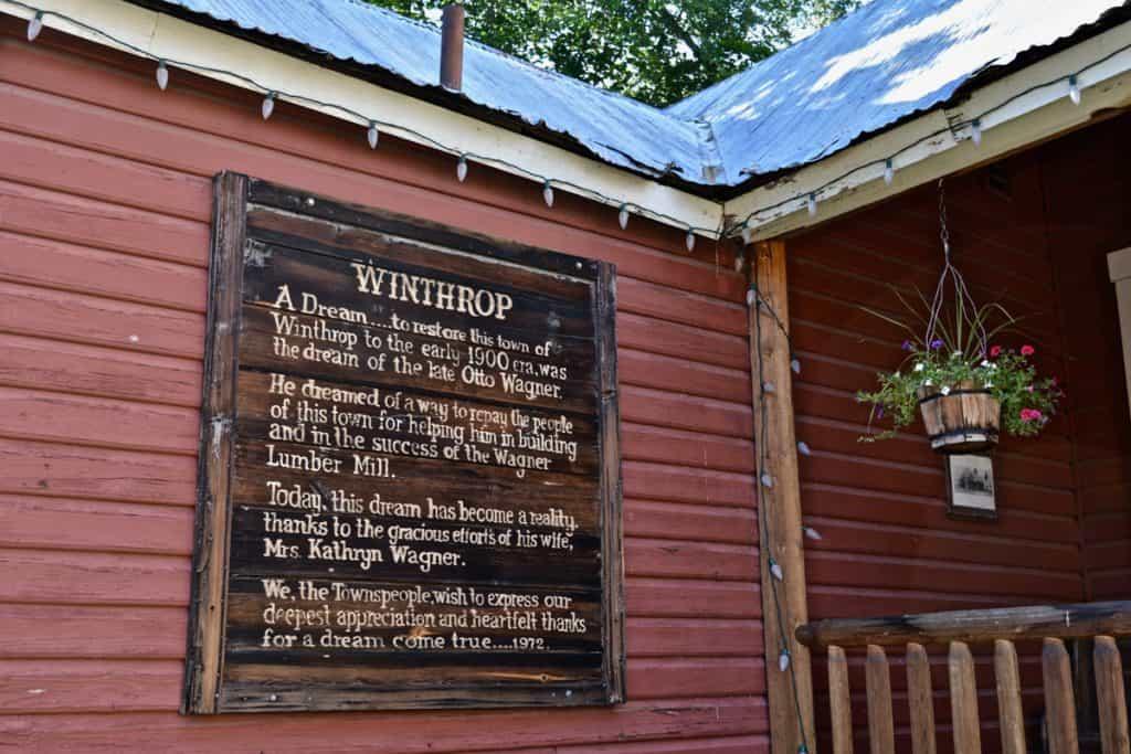 Things to do in Winthrop WA