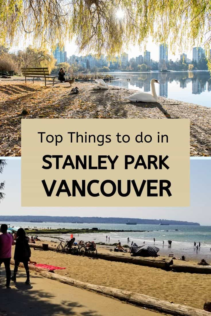 Things to do in Stanley Park Vancouver