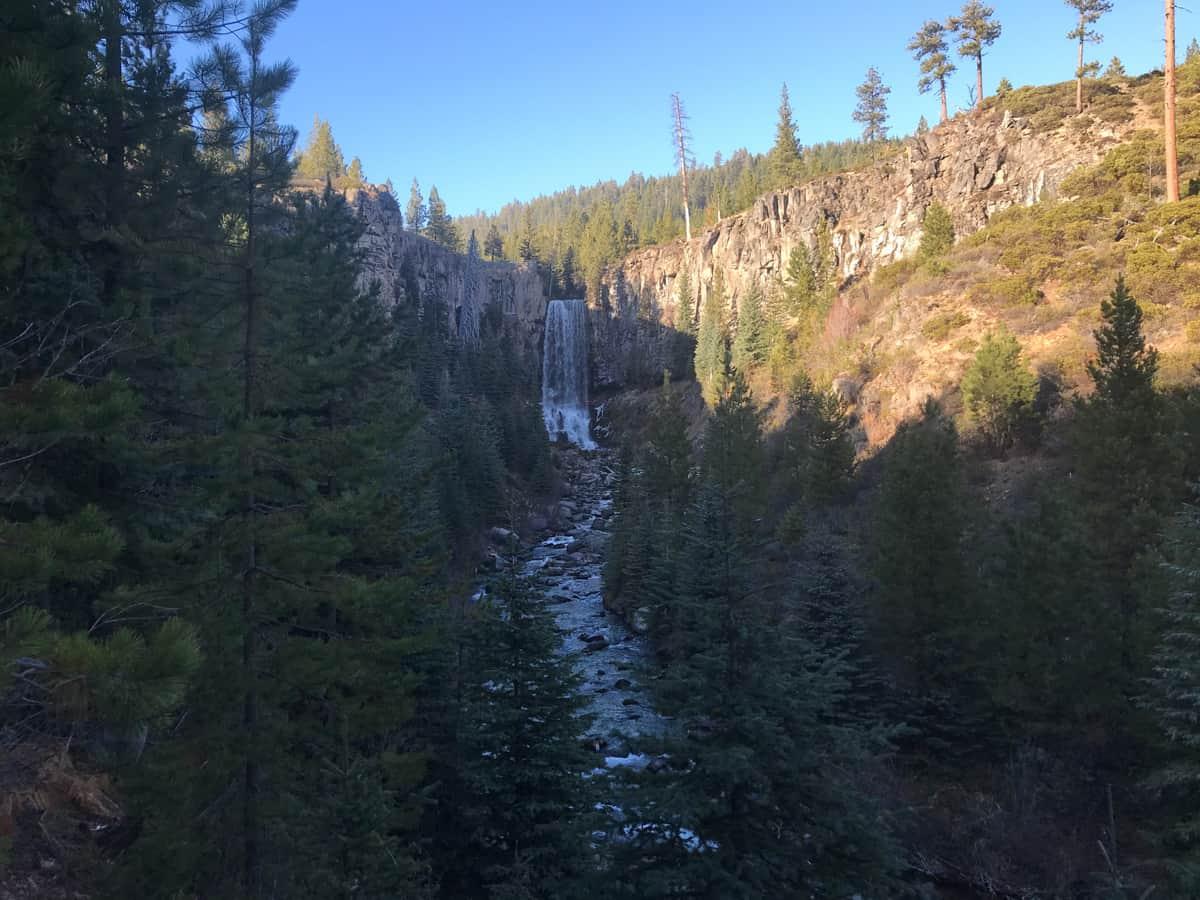 Tumalo Falls in Oregon